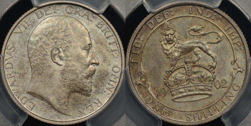 1902 shilling PR63