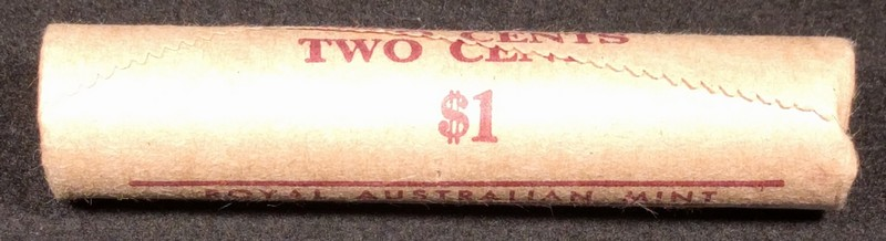 1980 2c royal Australian mint roll