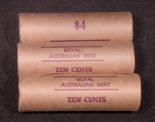 1982 10c royal Australian mint roll x 1 roll multiples available