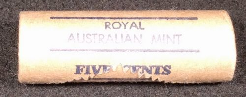 1982 5c royal Australian mint roll