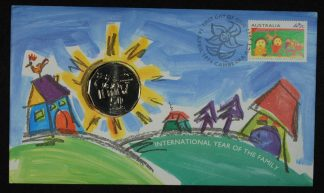 1994 international year of the family 50c pnc