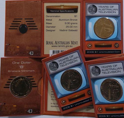 2014 RAM $1 UNC A Voyage to Terra Australis B Counterstamp