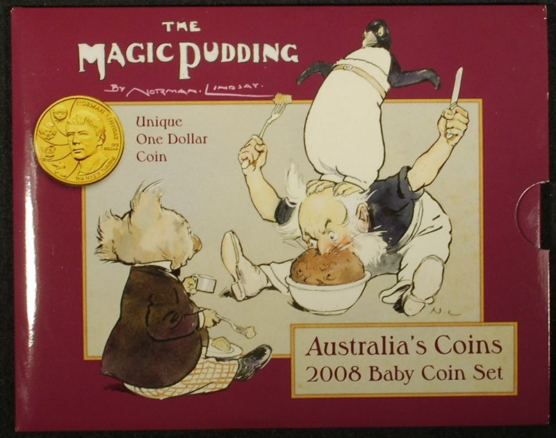 2008 baby mint set with medallion the magic pudding