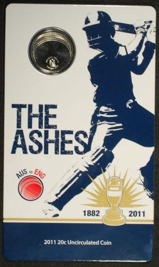 2011 the ashes 20c six stitcher cricket ball design