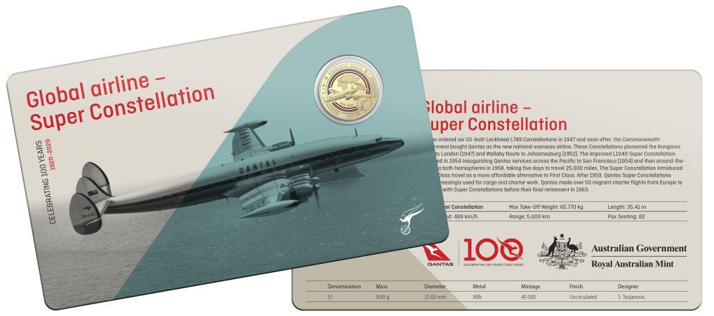 11 Qantas Centenary Coin Set RAM Qantas 100th Anniversary Plane