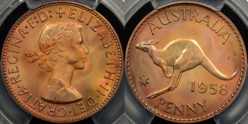 PCGS Graded Australian Pre Decimal Proof Coins for Sale- The