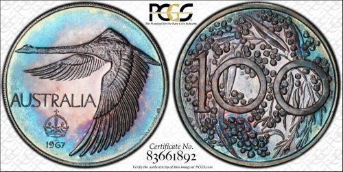 Australia 1967 swan MS67 83661892