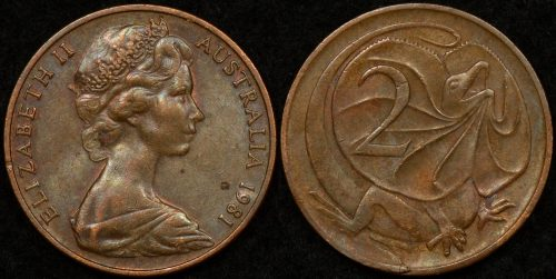 EXTRA CLAW on reverse Regular CANADA Lot of 2 x 5 CENTS 1965 circulated