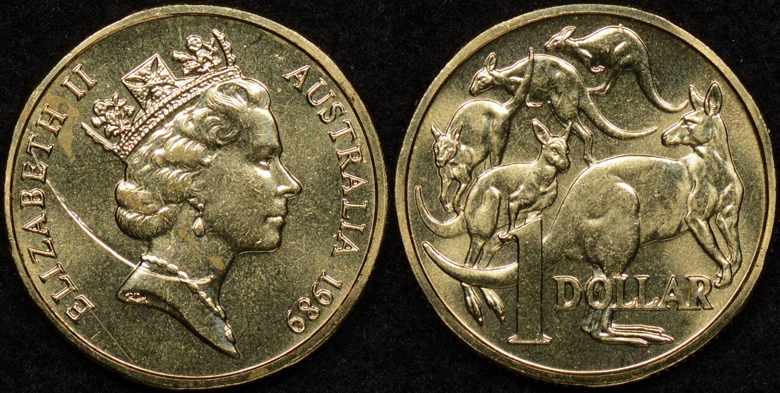 1989  AUSTRALIAN  1 CENT UNC=EX.MINT UNC SET