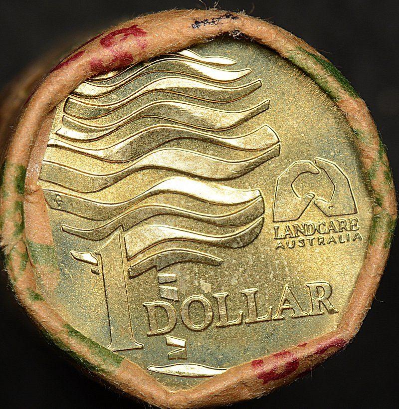 1993 Landcare $1 Dollar Armaguard Security Roll