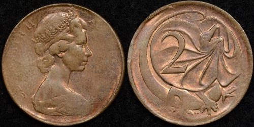 1967 One Penny