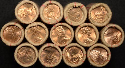 Coin Rolls and Security Bags - The Purple Penny