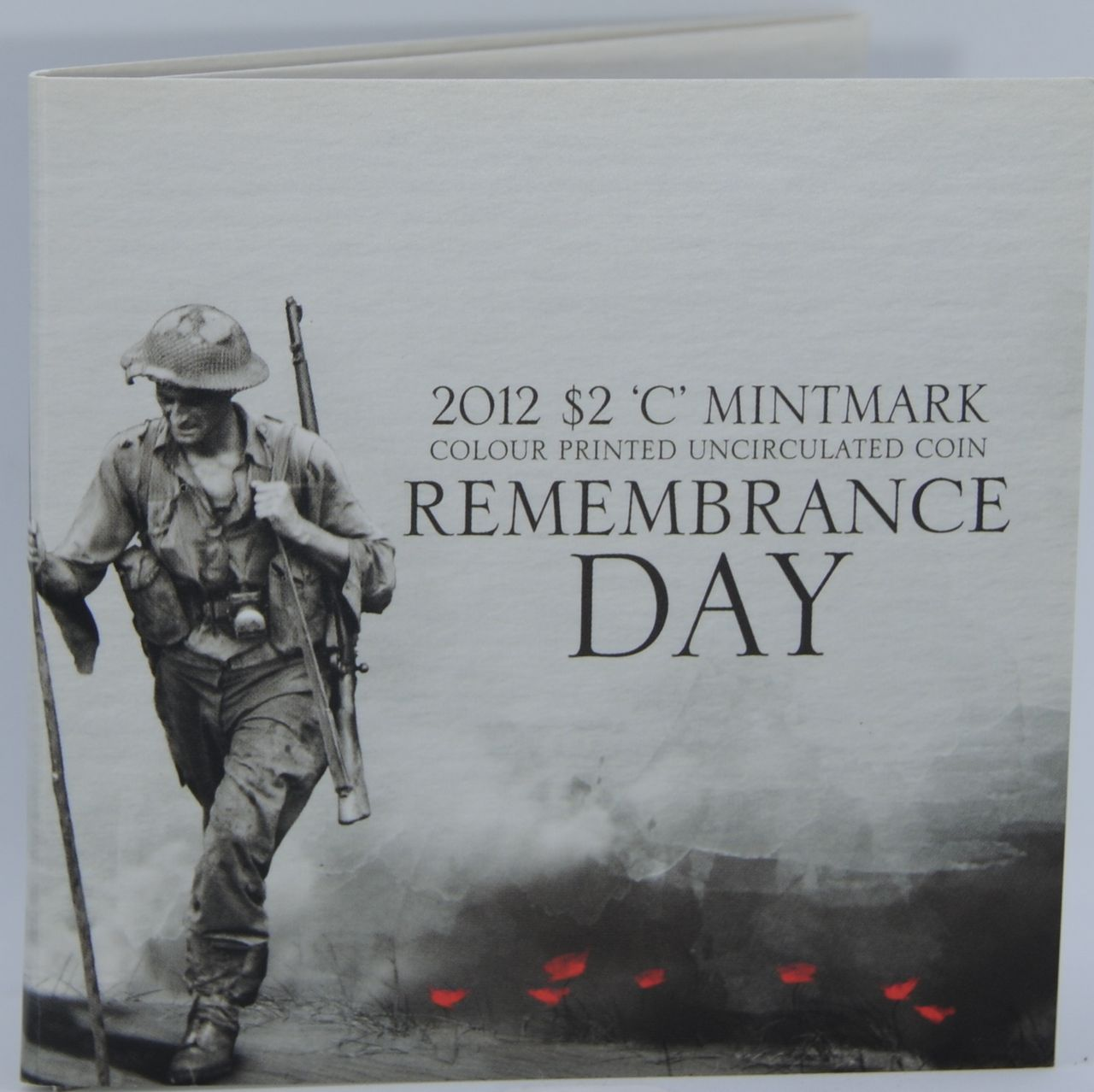 2012 2 Remembrance Day Red Poppy Carded Unc C Mintmark The Purple Penny