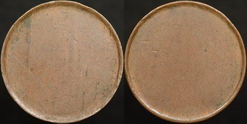 Australia half penny type 2 blank