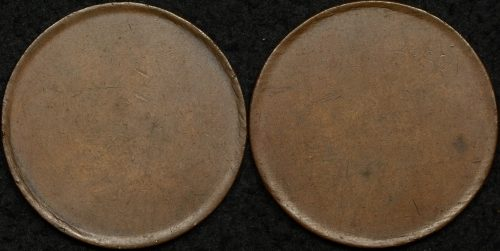 pre decimal coin errors varieties the purple penny