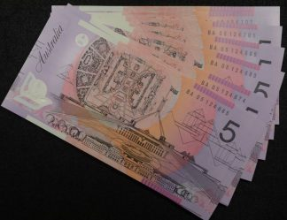 Ba05 first prefix 5 polymer banknotes 2005 mcfarlane henry Uncirculated