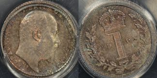 Great britain 1905 maundy penny 1d km 795 PCGS pl66 prooflike