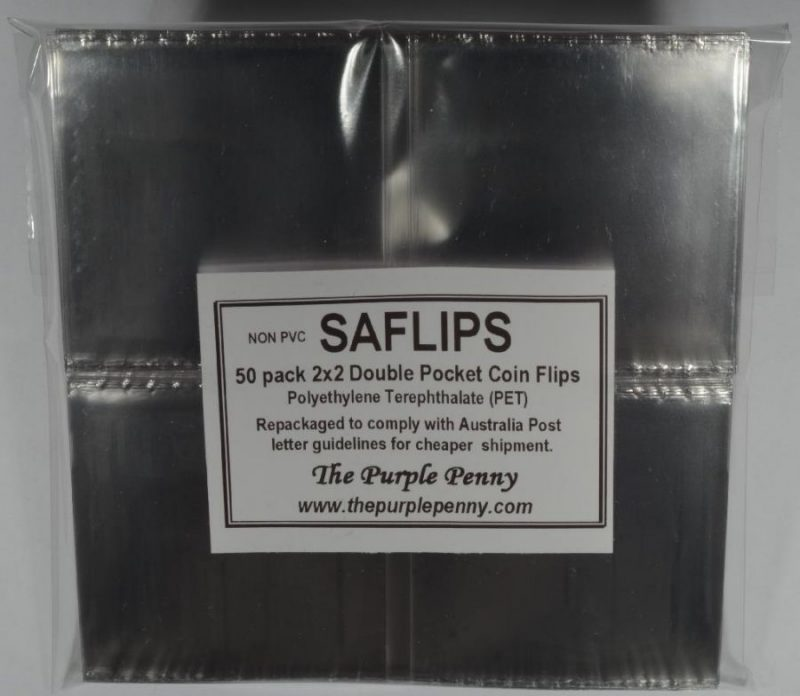 Saflips pack of 50 2×2 size use a saflip instead of a cardboard 2×2 universal one size fits most